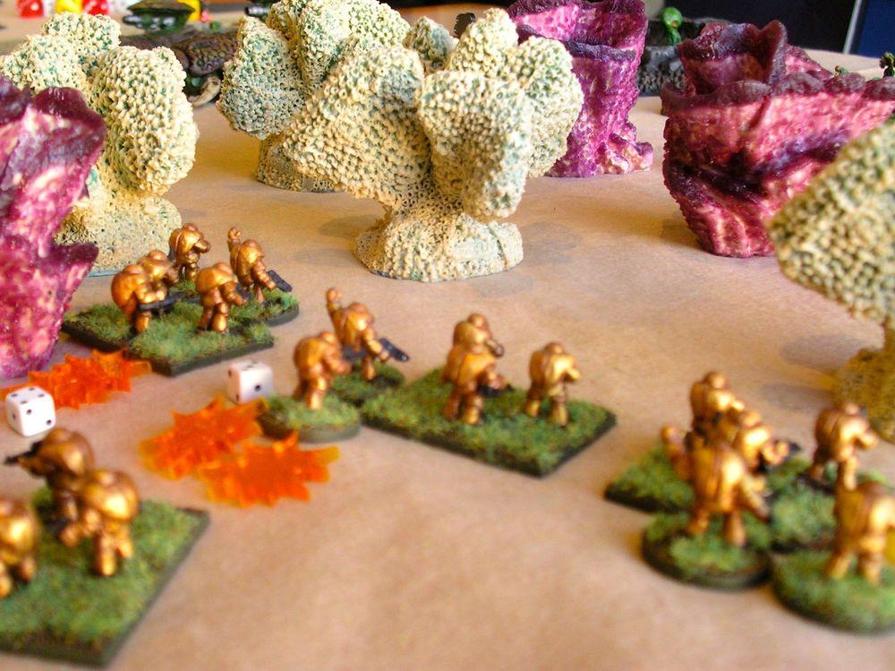 Gitungi platoon taking heavy fire