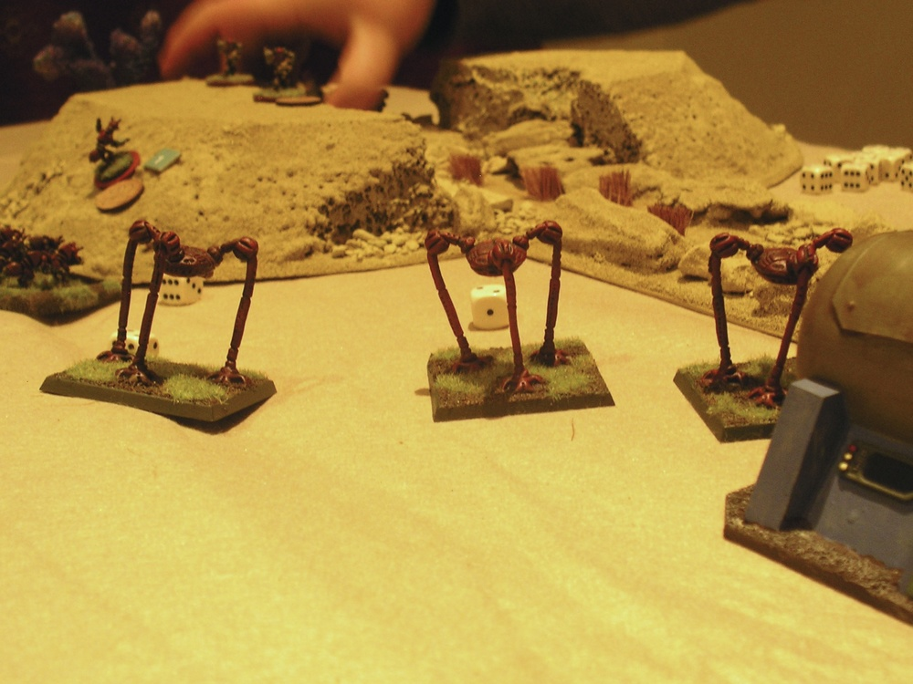 The Tripods attack!