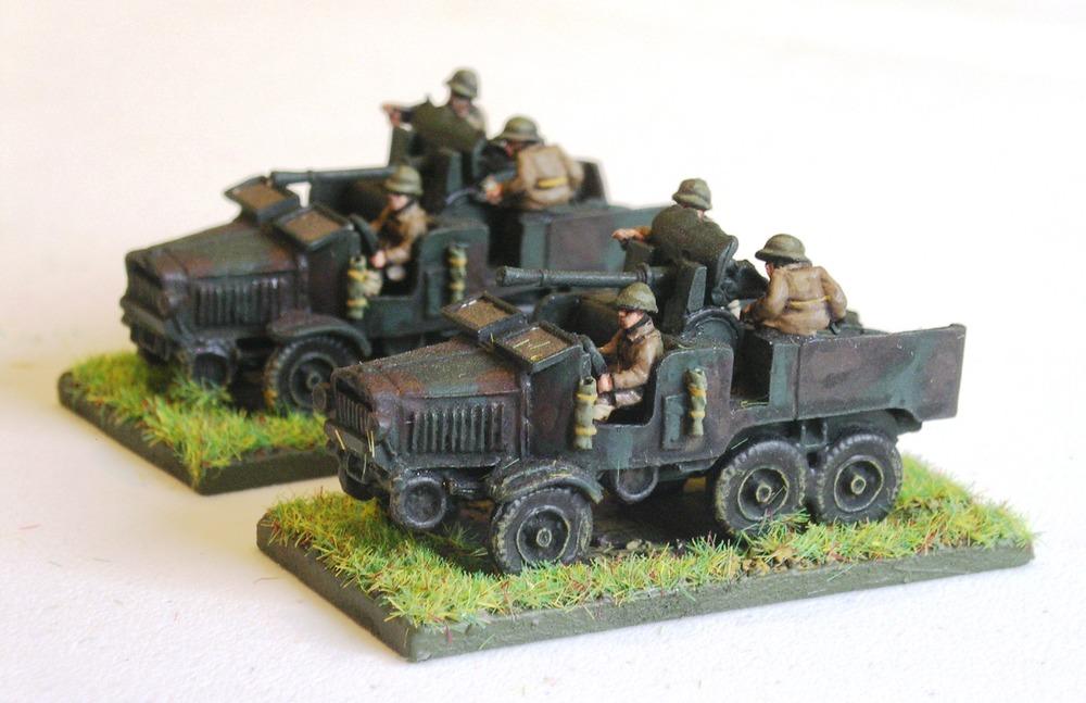 25mm SA-34 Portee (for Dragoon HQ)