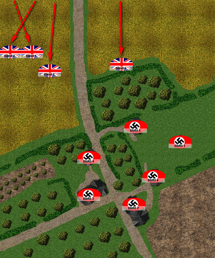 British Blinds Advance Rapidly