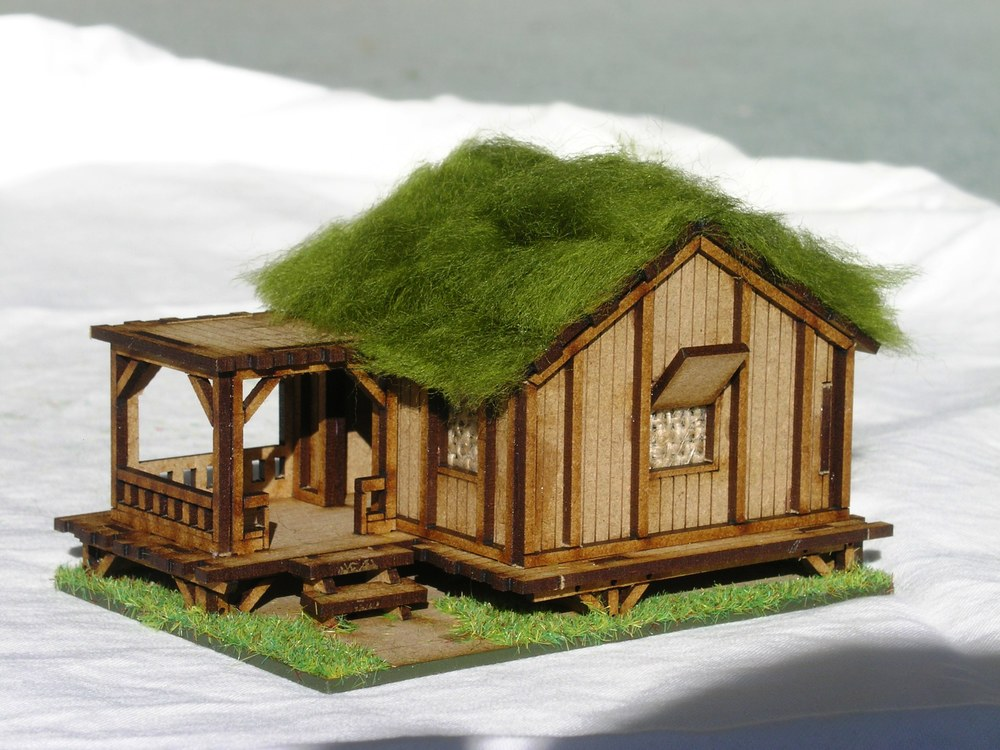 Building One: Planked Style Village House - Low