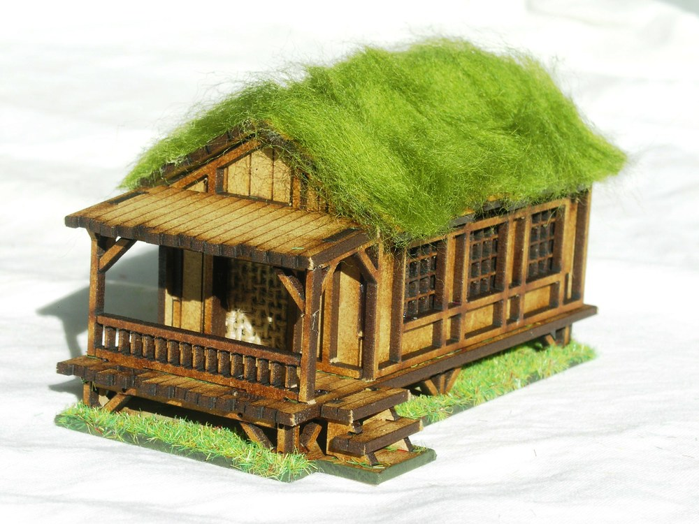 Building Six: Small Village House - Low