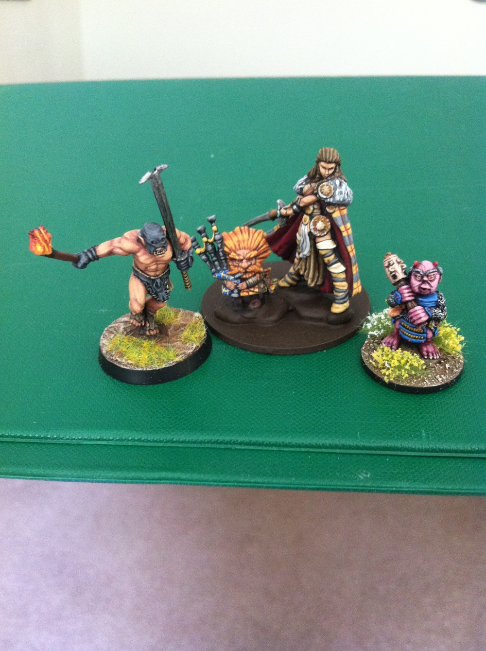 Ralph Plowman's entry: four random fantasy figures