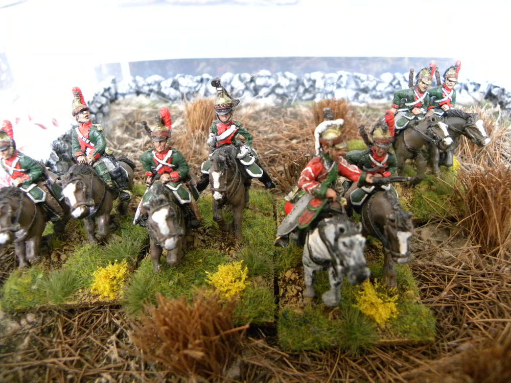 French Dragoons in 28mm from Stumpy
