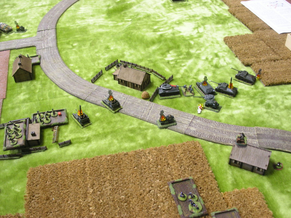 Dead tank corner!