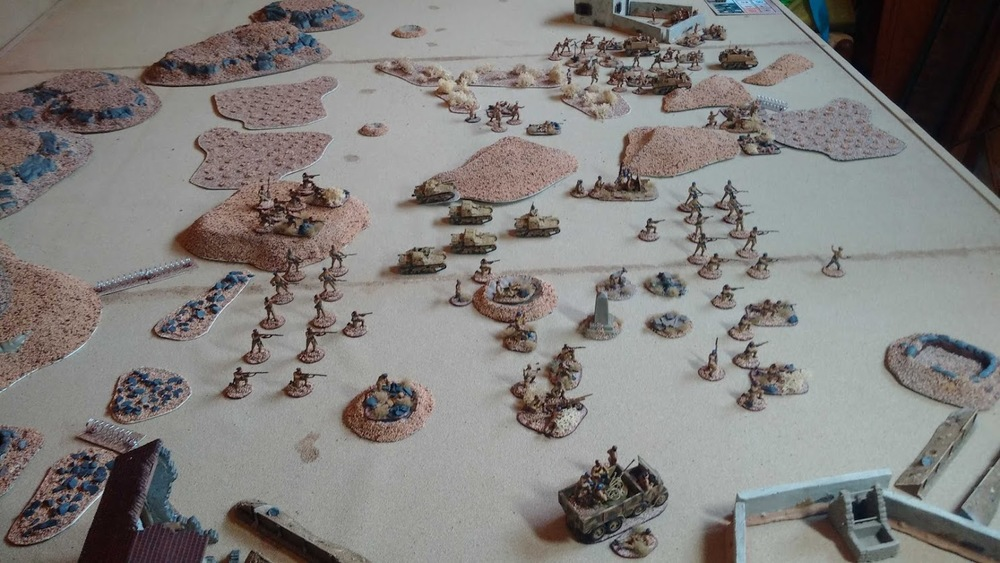 20mm WW2 terrain and figures from Mr Nouveau