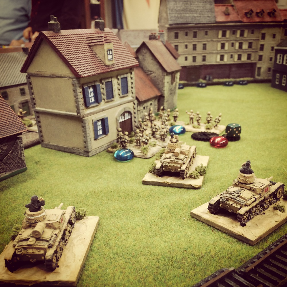 Italian armor repositions away from American fire