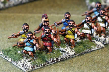 Greek light infantry from Tin Soldier