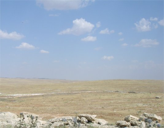 The plain of Carrhae: desolate and unforgiving
