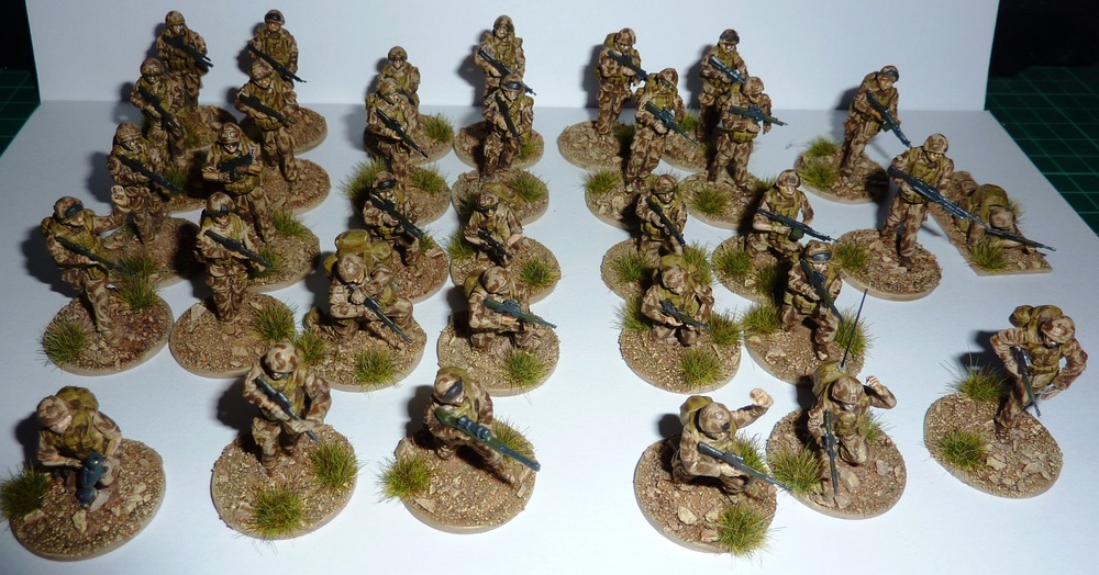 "Jason Ralls' ""Fighting Season"" Brits in 1/48th scale"