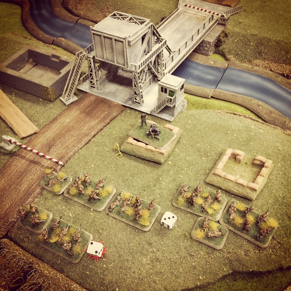 British charge hard into the German positions
