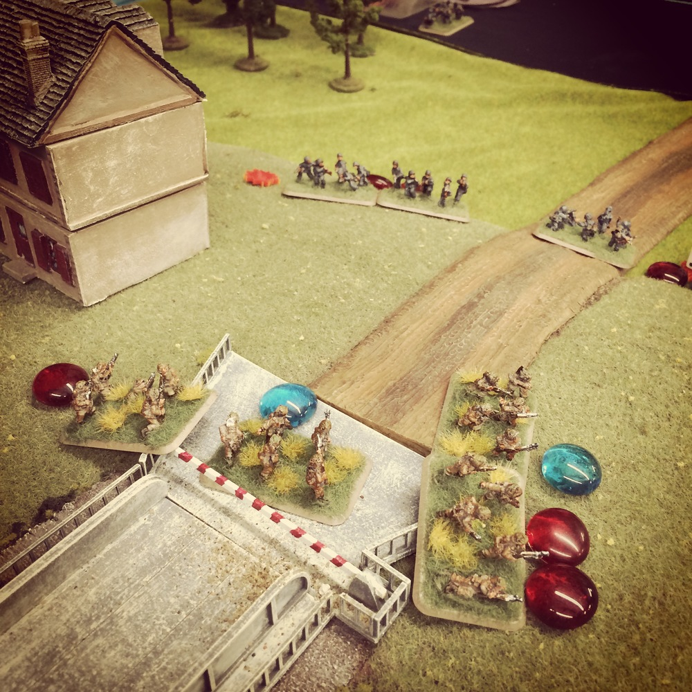 With the Germans in retreat, the British take Pegasus Bridge
