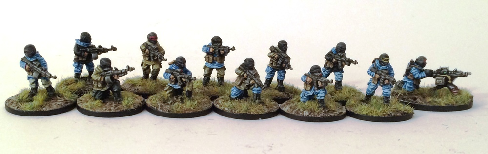 Latest releases from Armies Army beautifully painted by Ralph Plowman