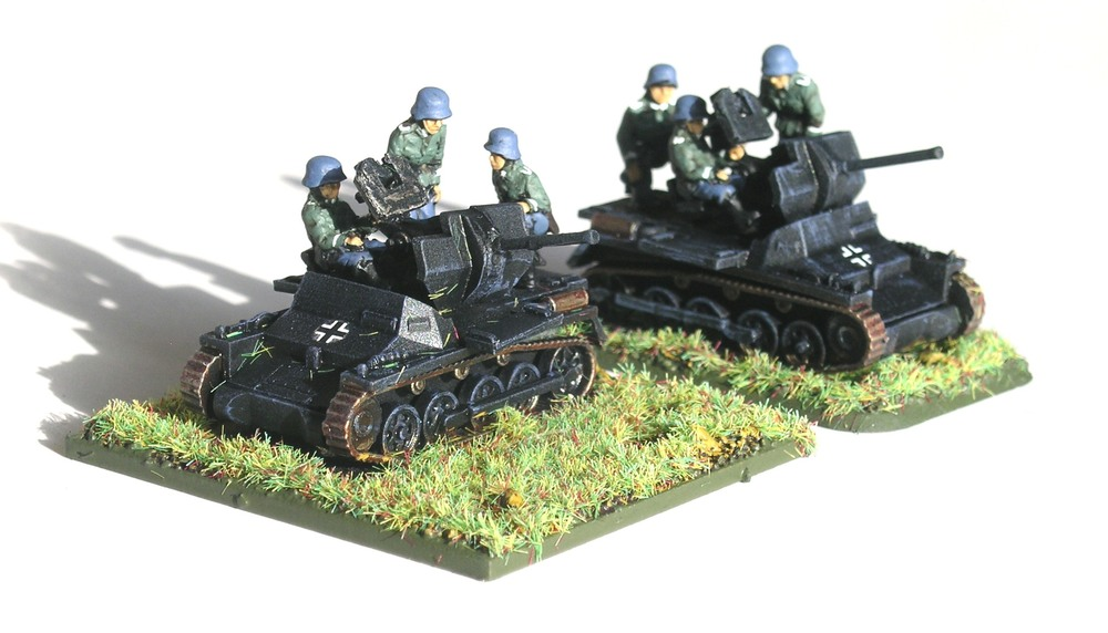 LIGHT ANTI-AIRCRAFT PLATOON (FLAKPANZER I)