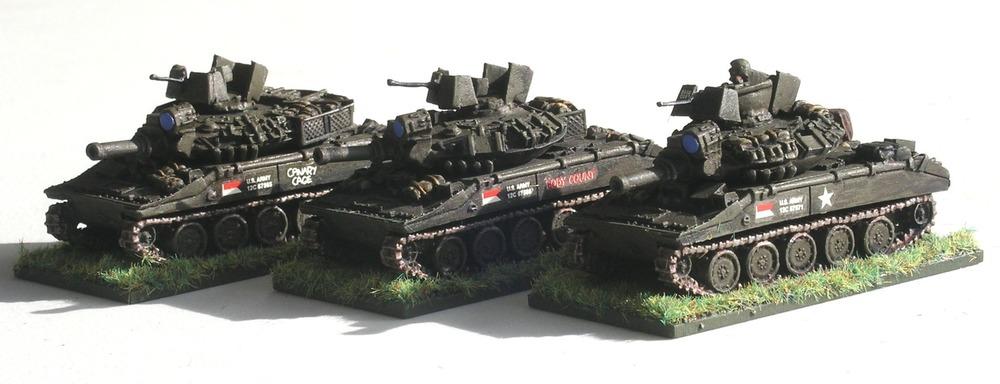 M551 Sheridan Tanks