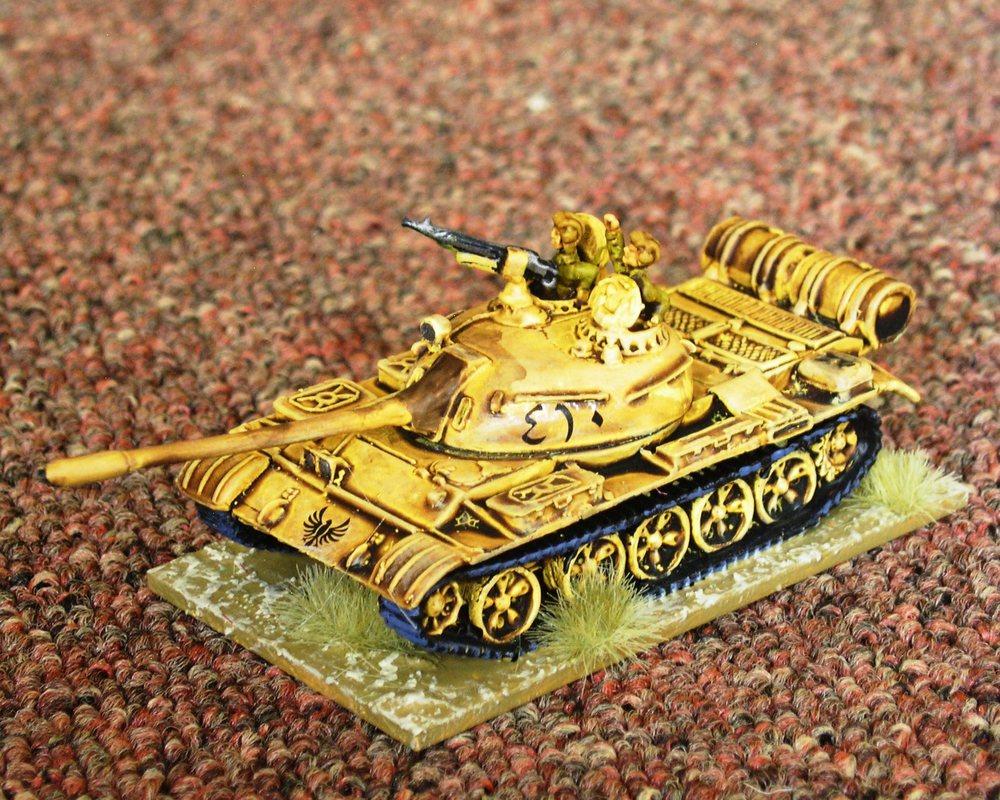 Company HQ: 1 x T-55