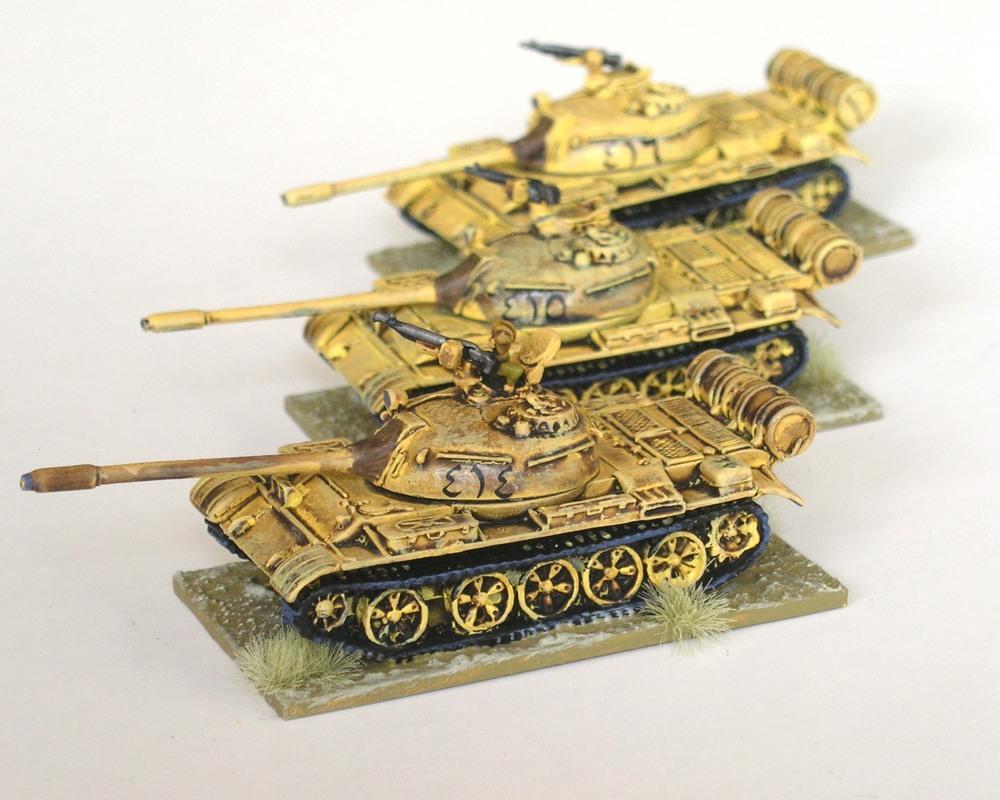 3rd Platoon: 3 x T-55