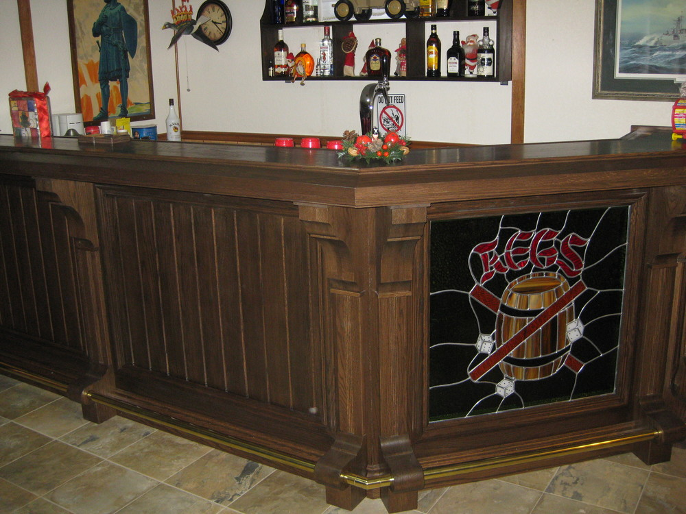 The Bar in the Games Room!