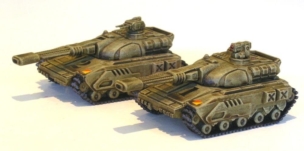 MDMS Goanna Tanks