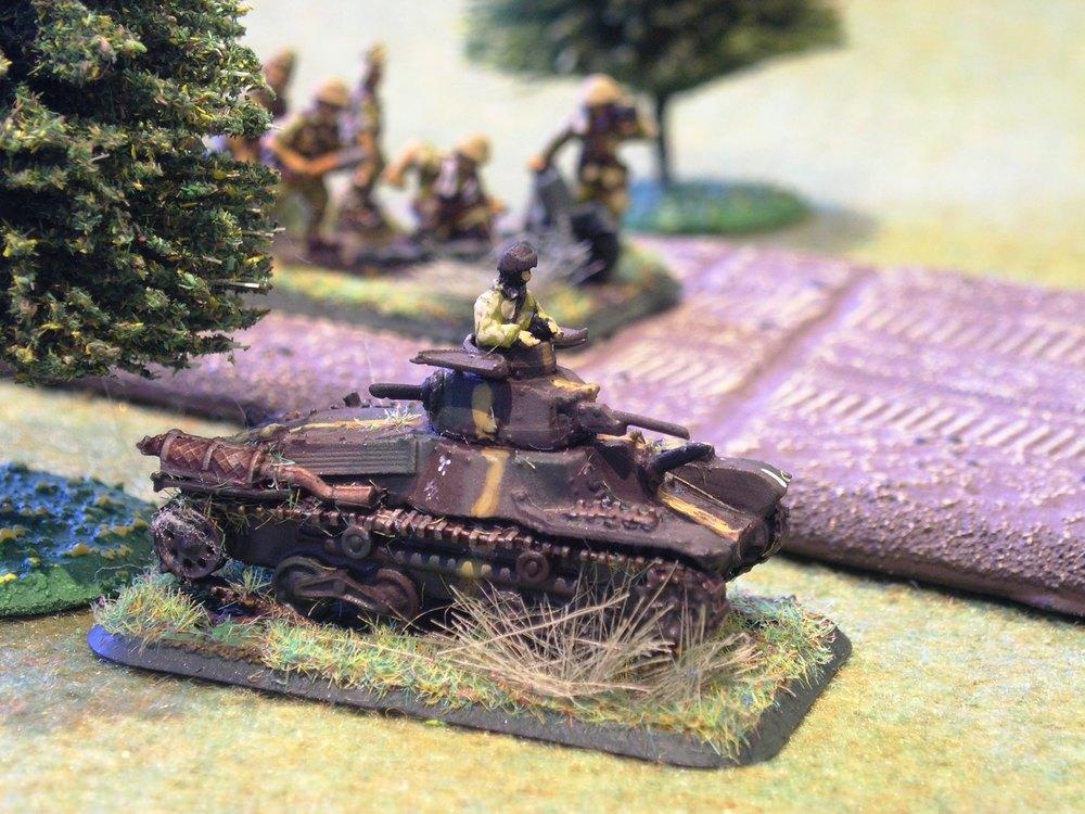 Japanese  ha go  light tank
