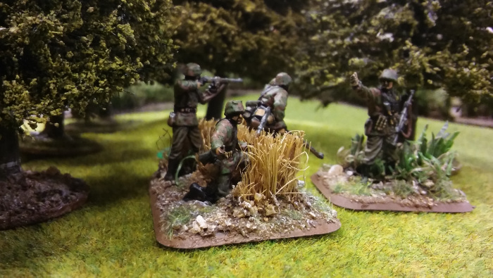 Ze Germans – the survivors of Darrens assault on the wood, shaken AND stirred!!