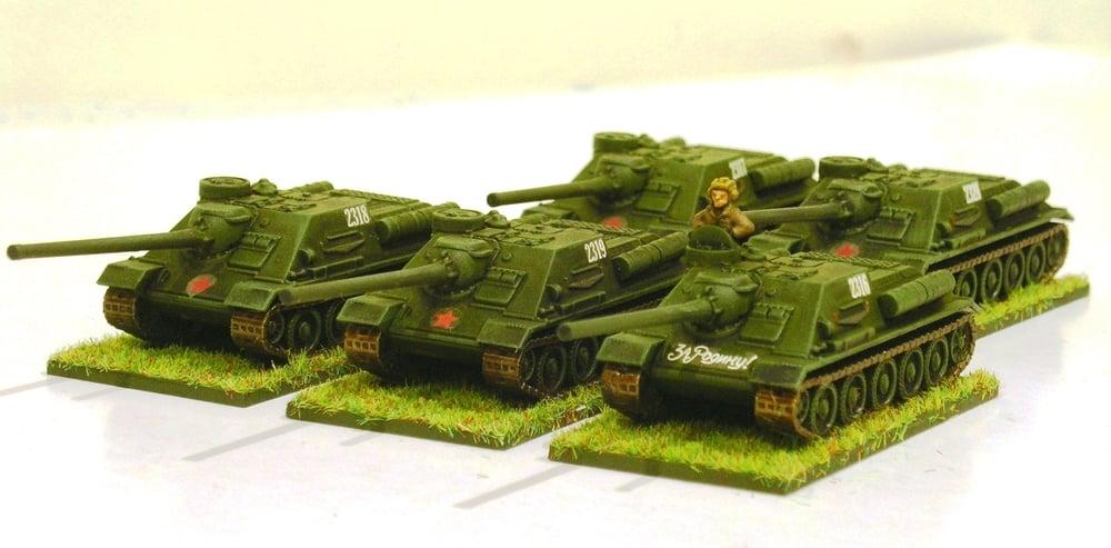 SP Anti-Tank Vzvod Option Two (5/4 x SU-100)