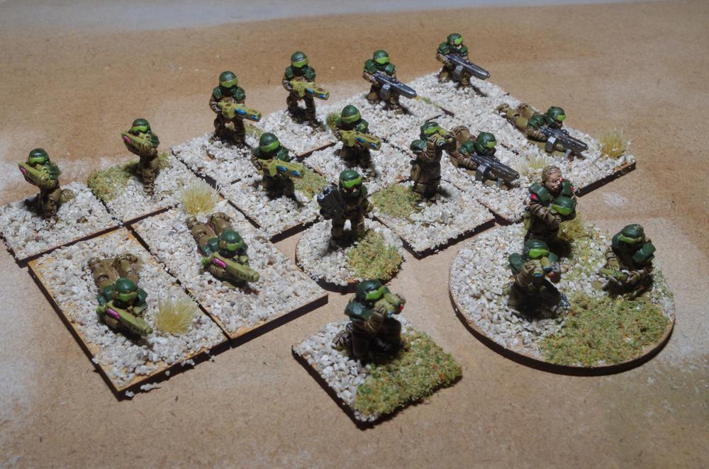 Carole's 15mm Support Platoon