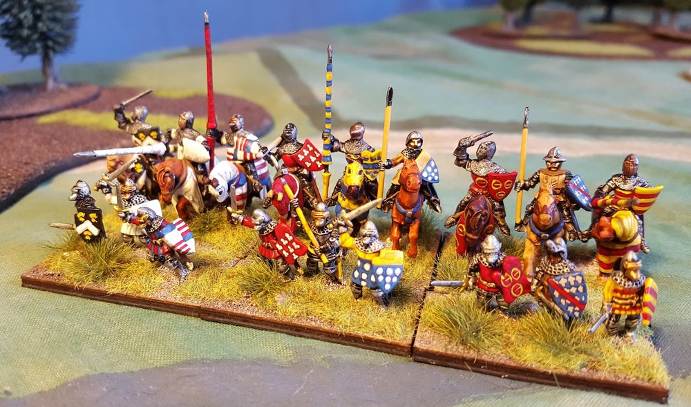 French Men At Arms from Doug Melville