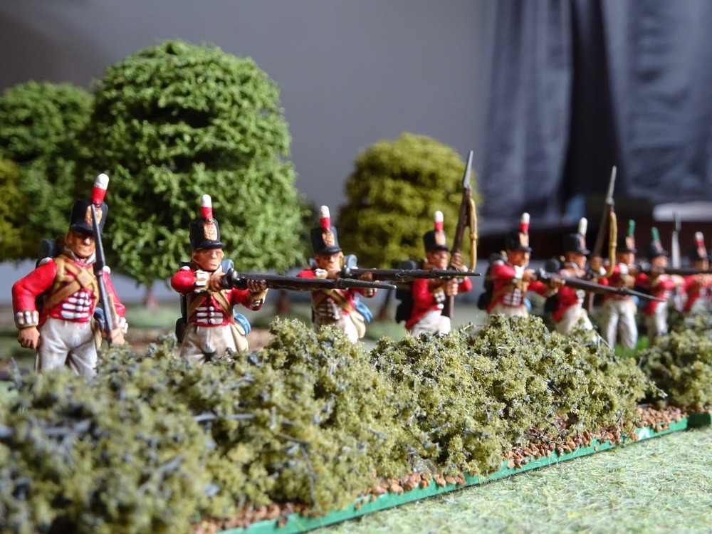 Napoleonic British infantry from Treadhead