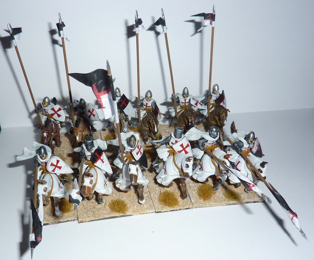 And here are Jason Ralls' Teutonic Knights. I do love a bit of Teutonic Knight!