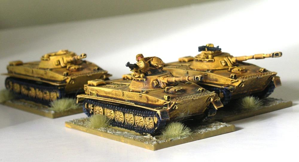 Reconnaissance Platoon (3 x pt-76 tank)