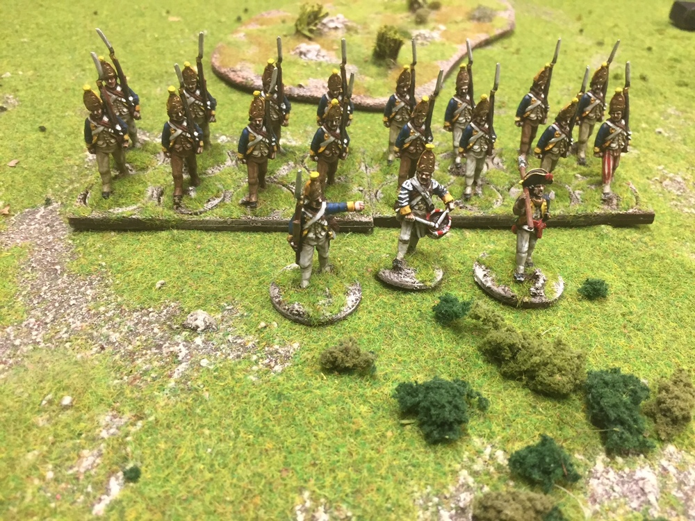 Baron von Schtabbin's Regiment by Mr Clarke