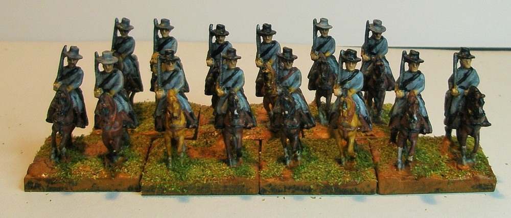 Dave Humm's Confederate cavalry