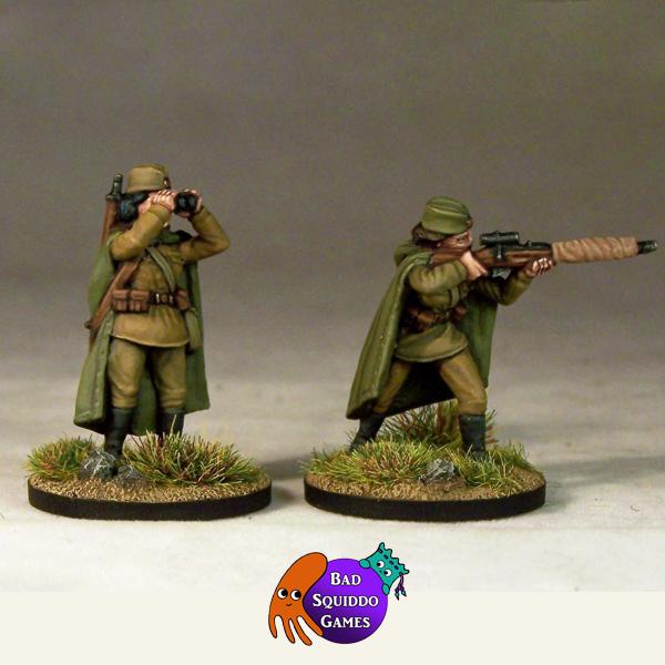 Sniper Team, Standing