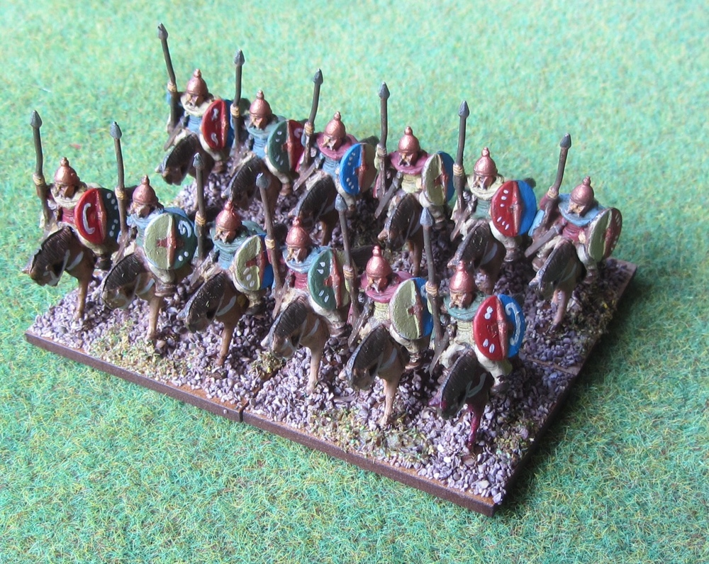 Gallic cavalry in 15mm