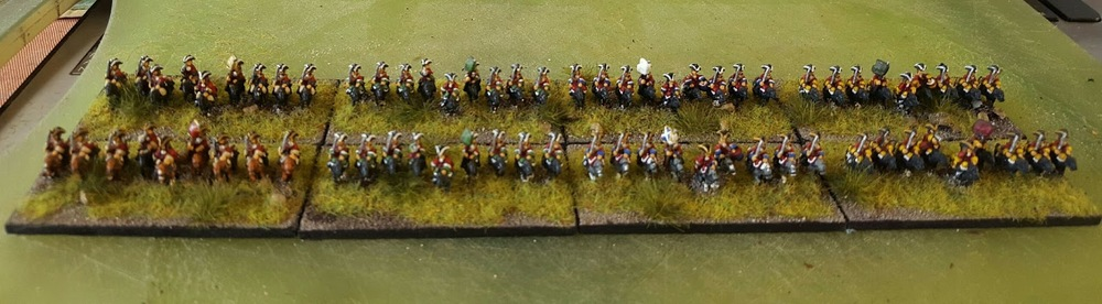 Doug's British Dragoons and Horse for the WSS in 6mm