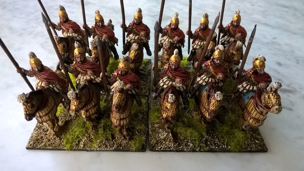 Steve's Cataphracts in 28mm