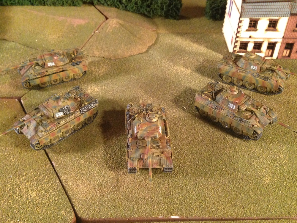 15mm Panthers from Mr Fitch