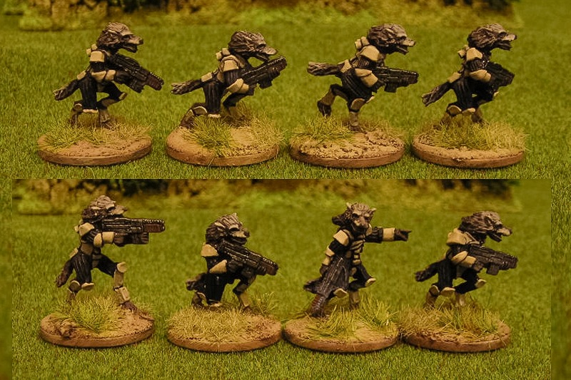 Raug infantry with autoguns