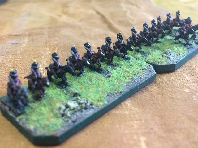 The Mad Padre's 6mm cavalry