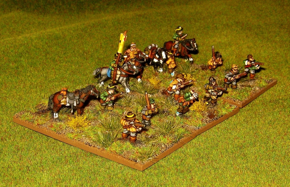 Kev's Parliamentarian Dragoons