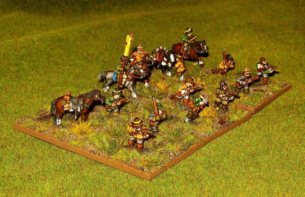 Kev's Parliamentarian Dragoons