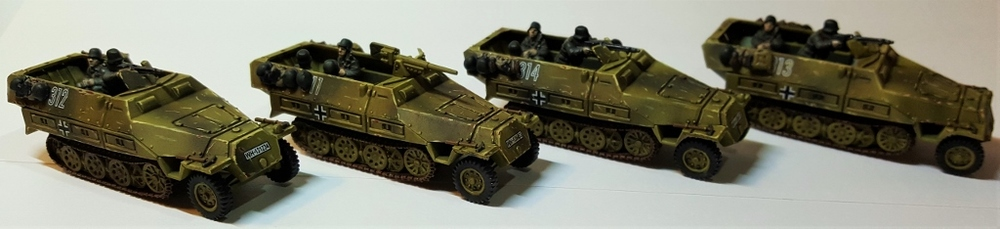 The GG's German Half-tracks