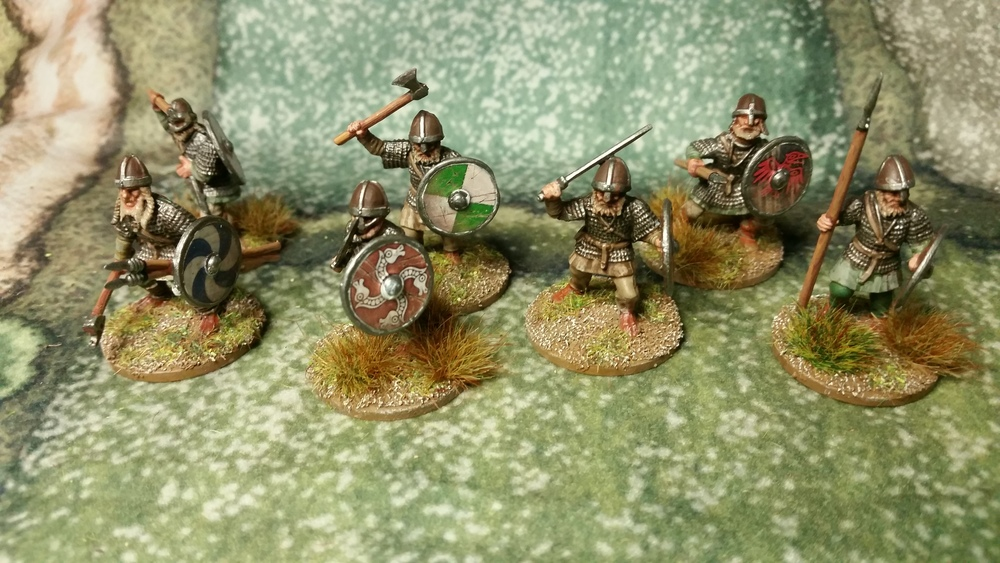 Some of Sapper's Vikings