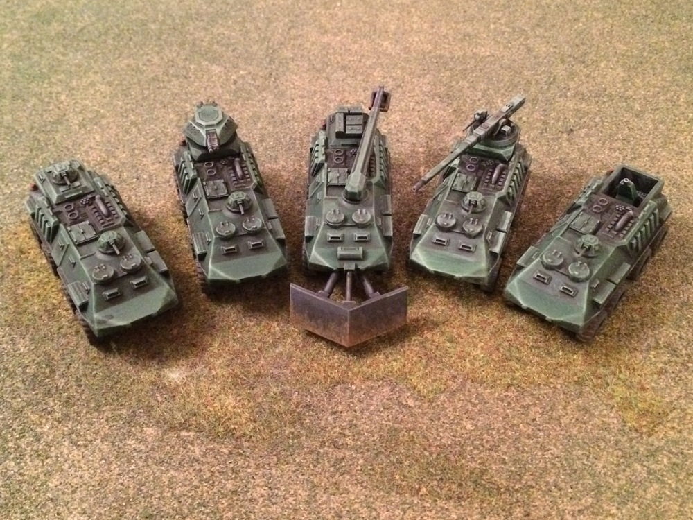 15mm Armies Army APCs from Mr Plowman