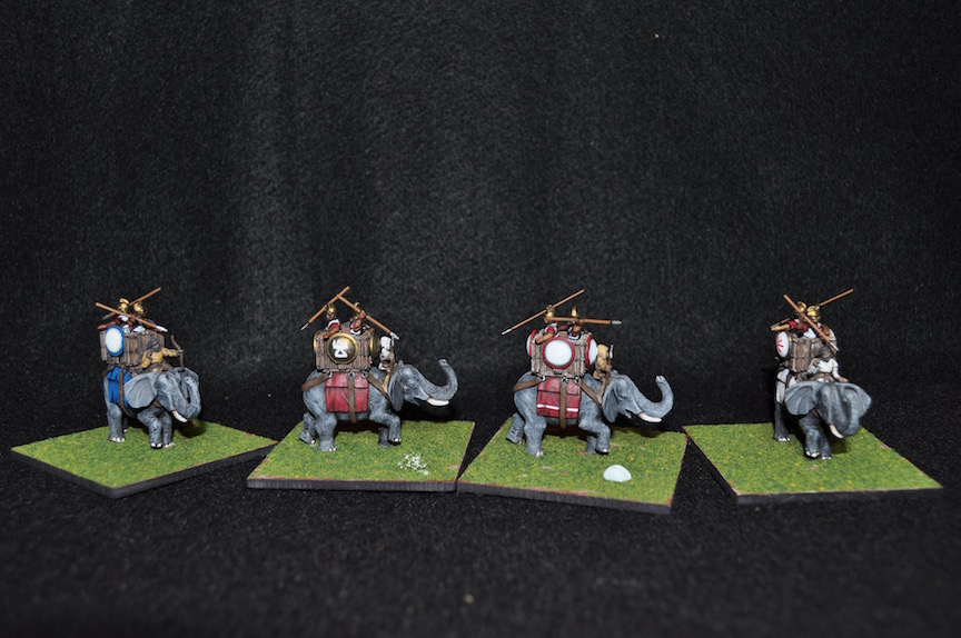 15mm Carthaginian elephants, also from the Oracle