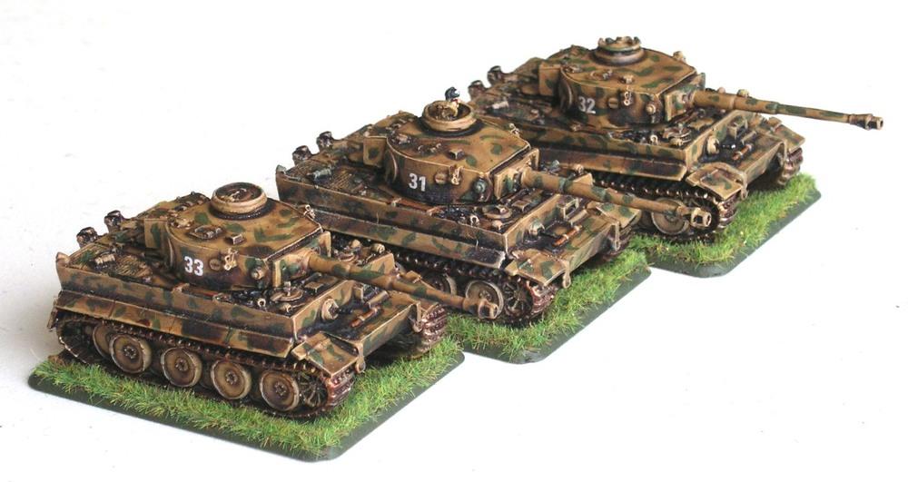 Schwerer Panzerzug Option One(4 x Tiger I)
