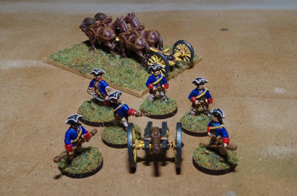 Carol's Syldavian artillery