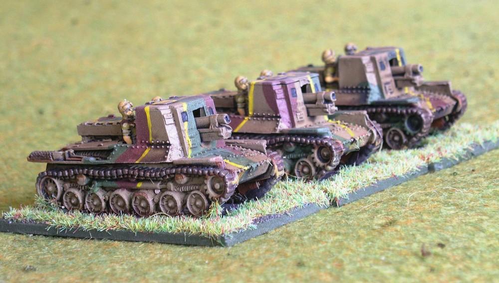 SP Artillery Platoon: Type 4 Ho-Ro