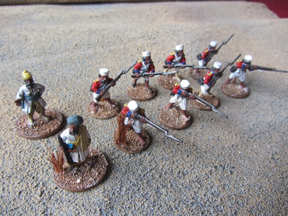 Sepoys for SP Indian Mutiny from Mervyn
